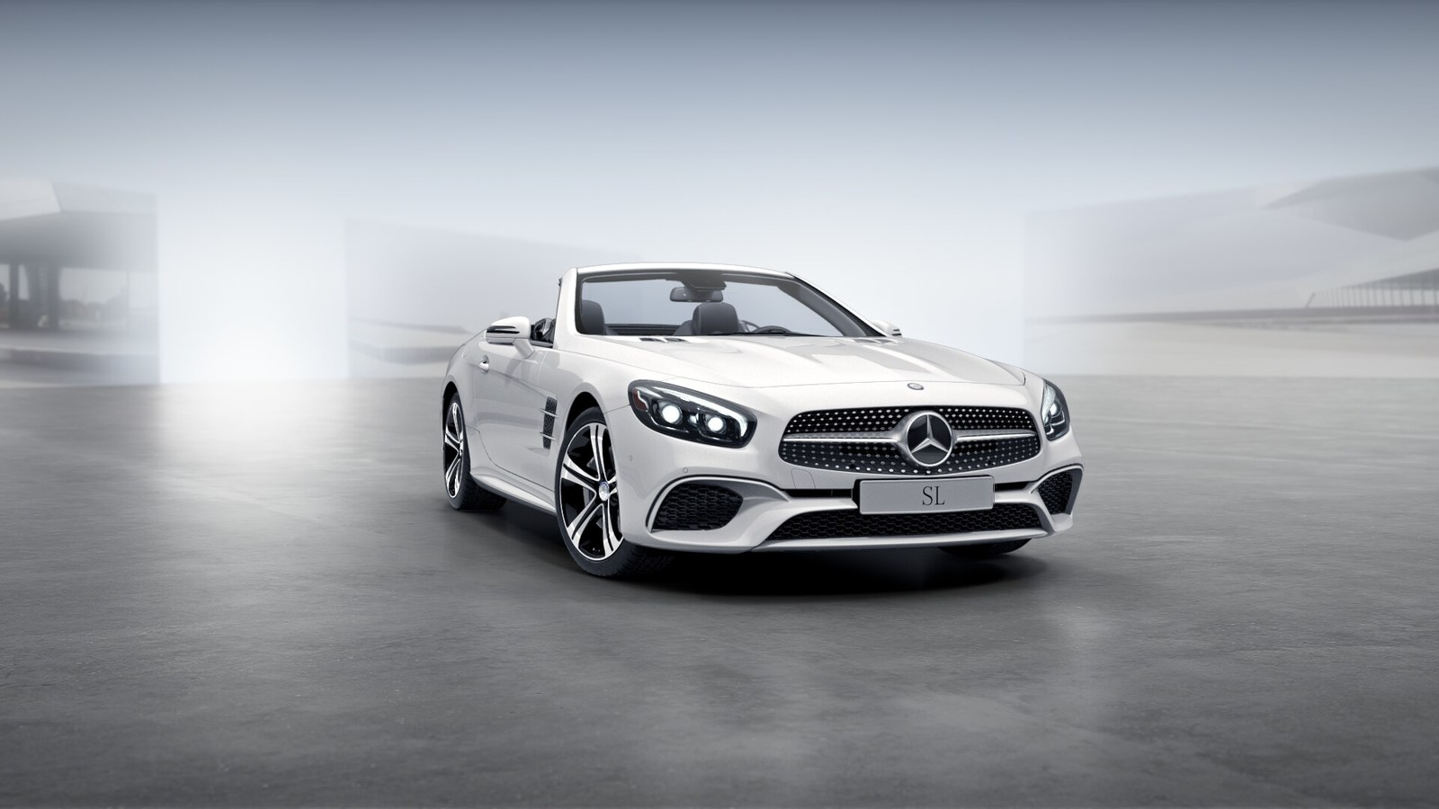 New 2017 mercedes benz sl class sl450 2 door coupe for Mercedes benz chandler inventory