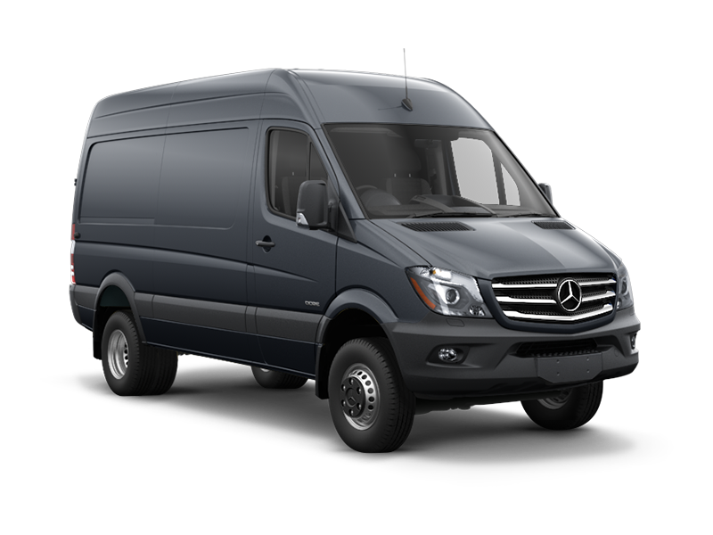 New 2016 mercedes benz sprinter 3500 cargo sprinter 4x4 for Mercedes benz 3500 sprinter