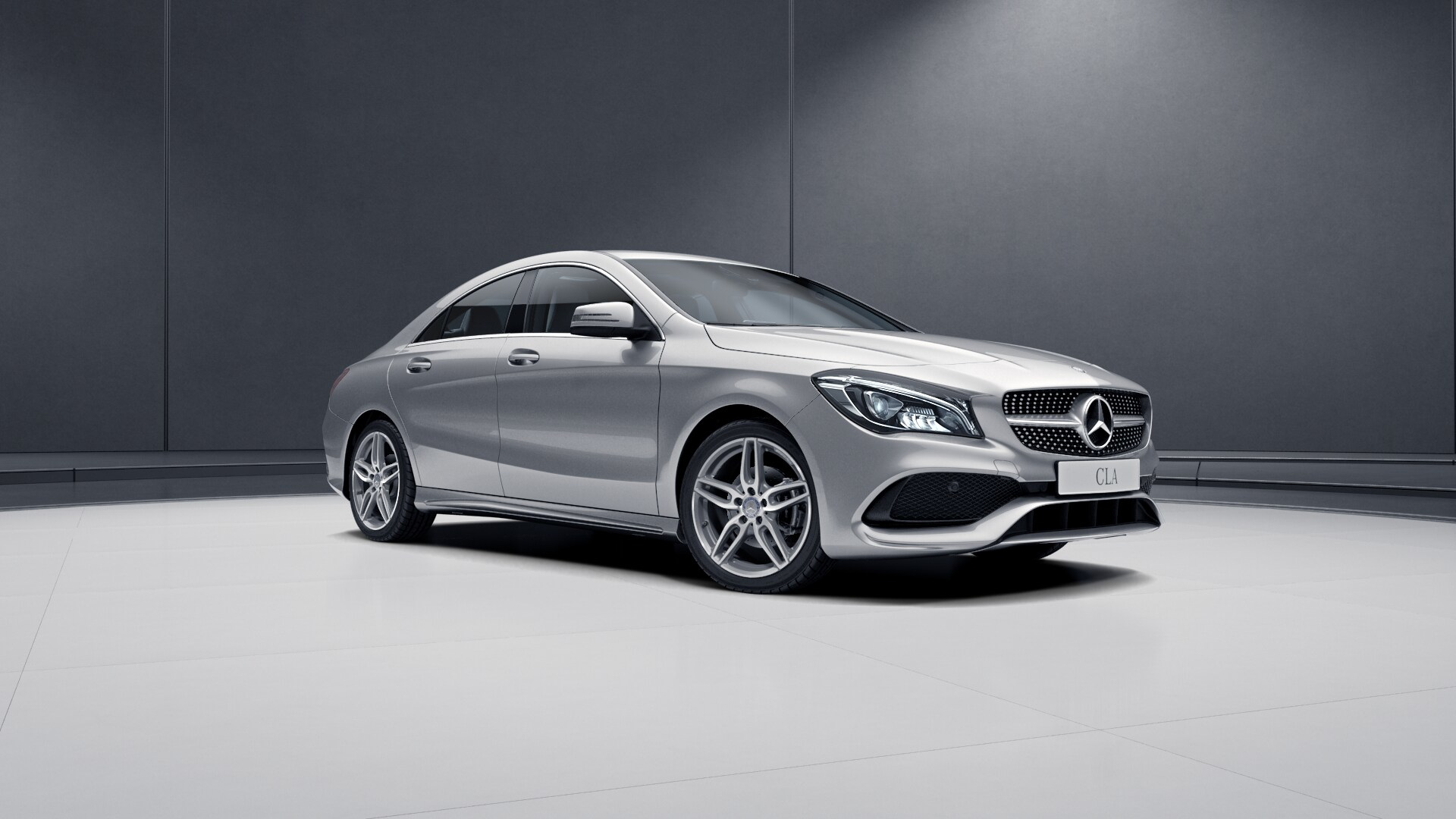 New 2017 mercedes benz cla cla45 amg coupe in montr al for Silver star mercedes benz parts