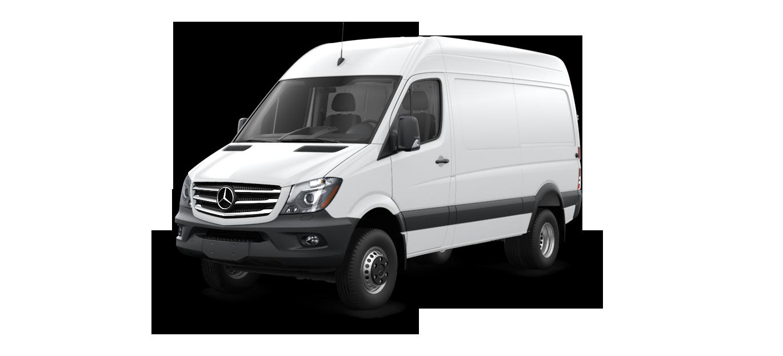 New 2017 mercedes benz sprinter 3500 cargo sprinter 4x4 for Mercedes benz sprinter parts and accessories