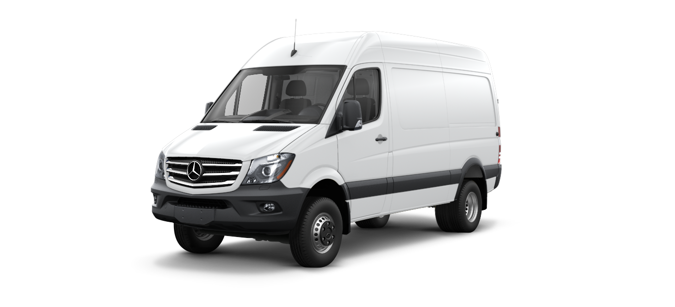 New 2017 mercedes benz sprinter 3500 cargo sprinter 4x4 for Mercedes benz 3500 sprinter
